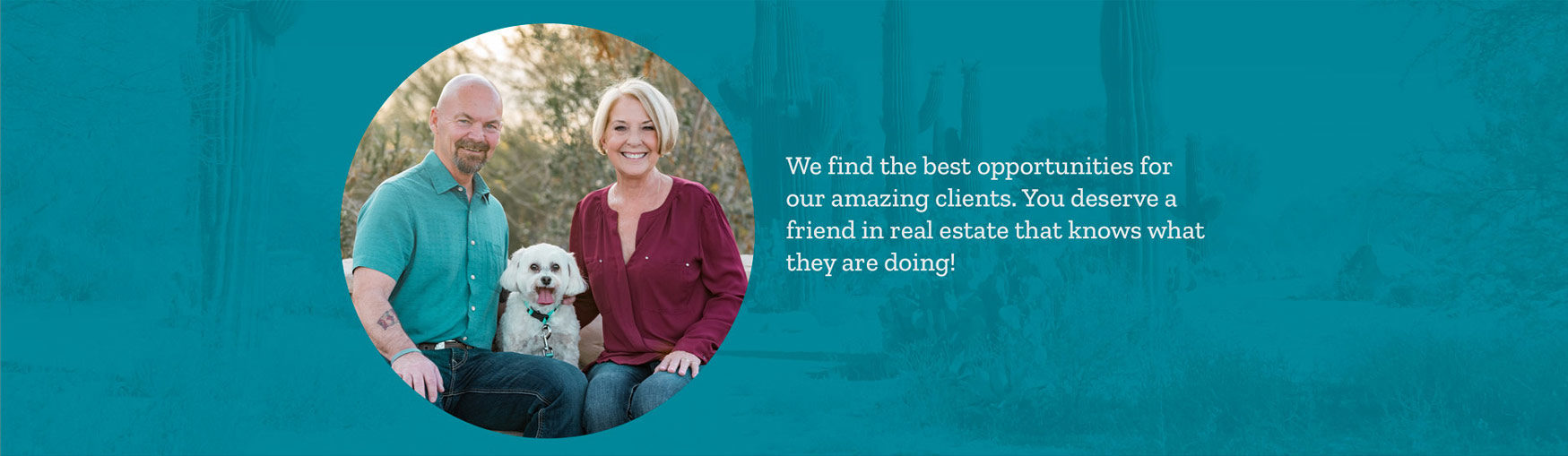 Gilbert Real Estate Agents Wally and Belinda